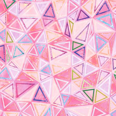 Geometry Pink Triangle