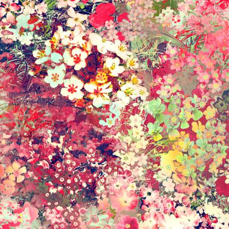 Fiesta Floral Impressions Digital Fabric by RJR