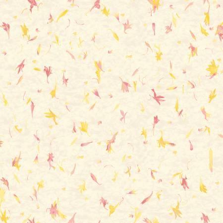 RJR Fabrics Gold Perennial Paper
