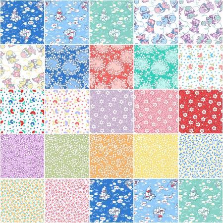 10in Squares E.B.T.K.S 15, 42pcs