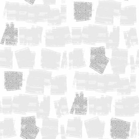 Shiny Objects Glitz and Glamour by RJR Studio for RJR Fabrics - Swift - Ice Cube - Metallic