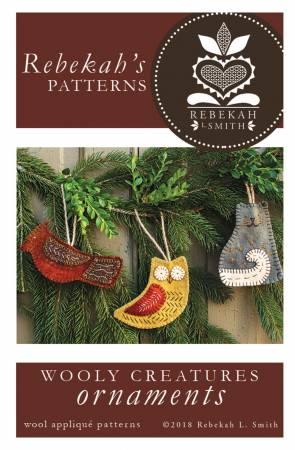 Wooly Creatures Ornaments