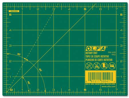 Cutting Mat with Grid 6in x 8in Olfa