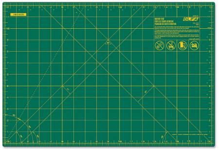 Cutting Mat with Grid 12in x 18in