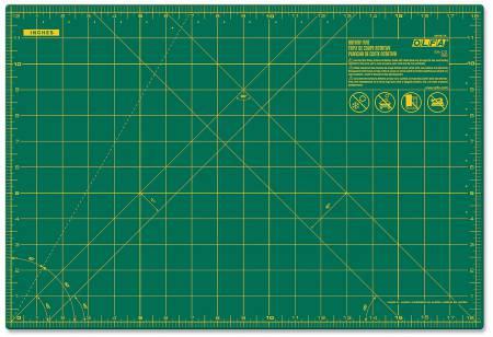 Cutting Mat with Grid 12in x 18in Olfa