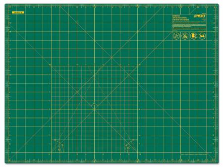 Cutting Mat with Grid 18in x 24in