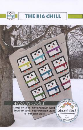 Big Chill Penguin Quilt