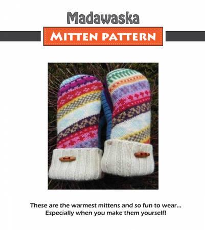 Madawaska Sweater Mitten Pattern