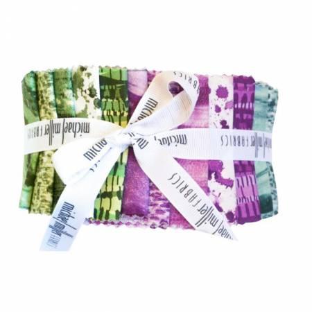 2-1/2in Strips Strata Basil, 40pcs/bundle