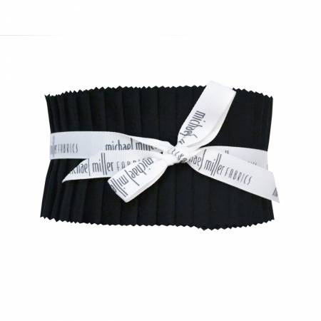 2-1/2in Strips Jet Black, 40pcs/bundle