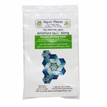 Paper Piece Pack for Rosette Nine