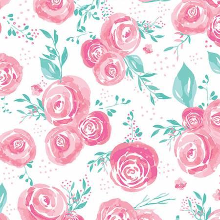 Blush Rosie Cuddle Print