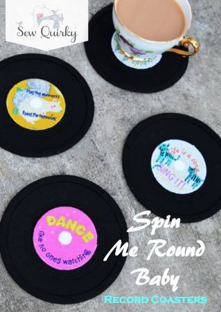Spin Me Round Baby - Record Coasters
