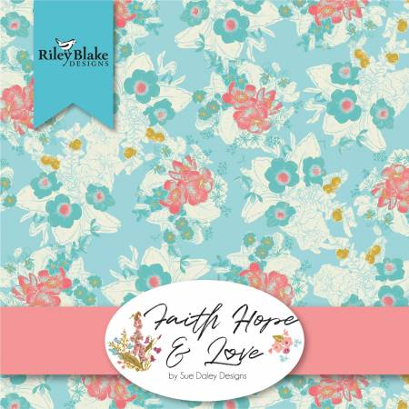 Faith Hope And Love 2.5 Strips (Sue Daley Designs) 40pcs