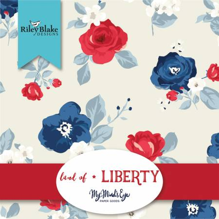 Land Of Liberty 2-1/2in Strips, 40pcs