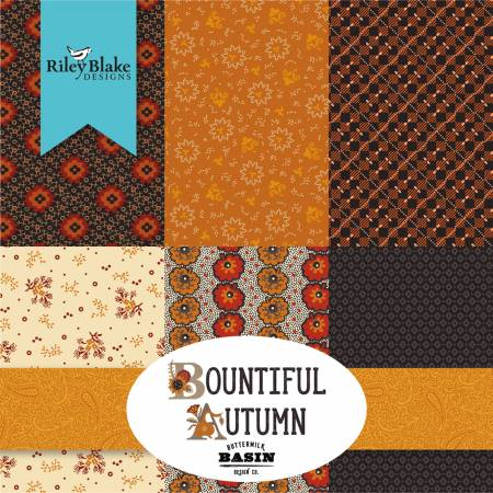 Bountiful Autumn 2-1/2in Strips, 40pcs/bundle
