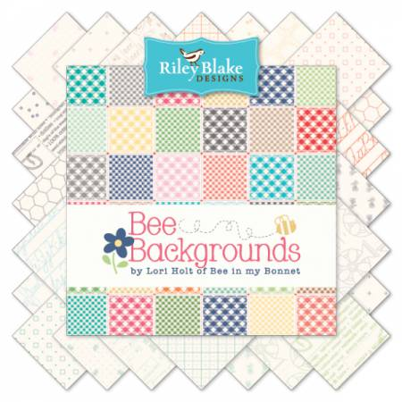 Bee Backgrounds Rollie Pollie 2.5 Strips