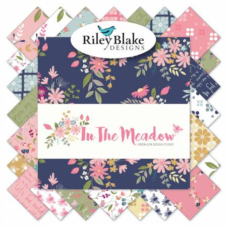 In The Meadow 2-1/2in Strips, 40pcs,