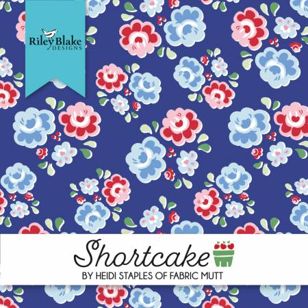 Shortcake 2-1/2in Strips, 40pcs/bundle