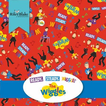 Wiggles 2-1/2in Strips, 40pcs