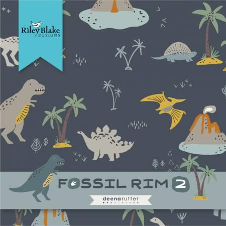 Strips Fossil Rim 2, 2-1/2in , 40pcs