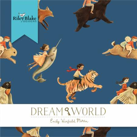 2-1/2in Strips Dream World, 40pcs