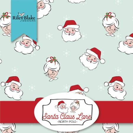 Santa Claus Lane 2-1/2in Strips, 40 pcs,
