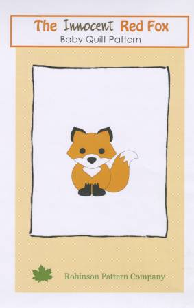 Innocent Red Fox Baby Quilt