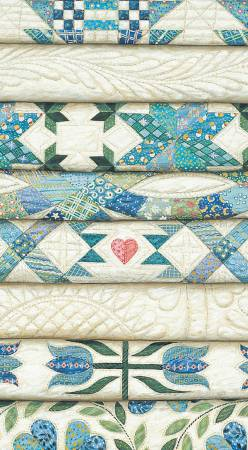 2 Year Pocket Calendar Rebecca Barker Stacked Blue Quilts