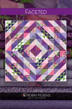 Robin Pickens Faceted Fat Quarter Pattern