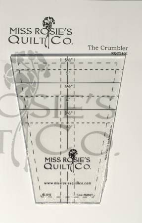 THE CRUMBLER TEMPLATE MISS ROSIE'S QUILT CO MODA