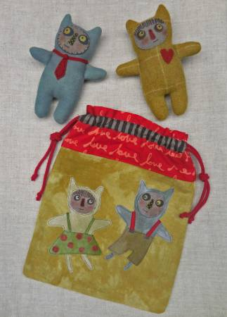 Little Monsters by Reets' Rags to Stitches