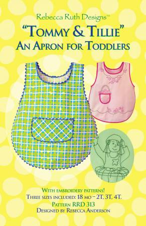 Tommy & Tullie - An Apron for Toddlers