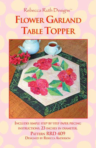 Flower Garland Table Topper - Pattern