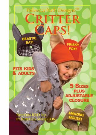 Rebecca Ruth Designs Critter Caps
