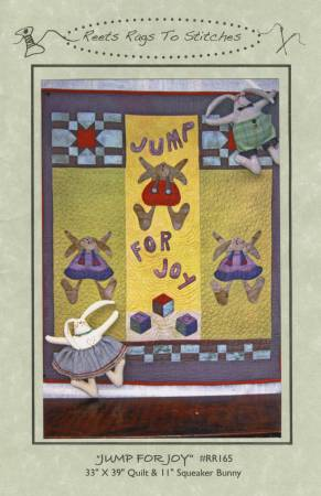 Jump For Joy by Reets' Rags to Stitches