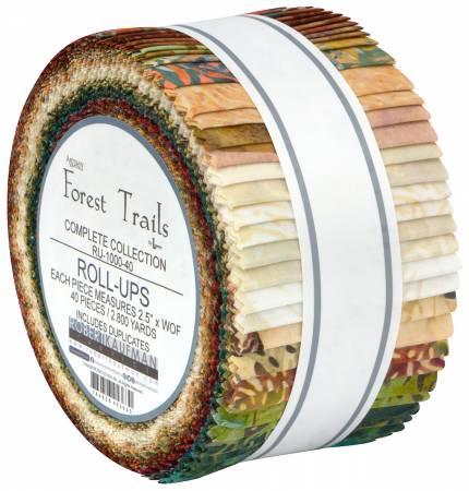 2-1/2 Strips, Forest Trails Batik