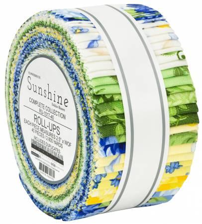 Sunshine Flowerhouse, 2-1/2in Strips, 40pcs/bundle