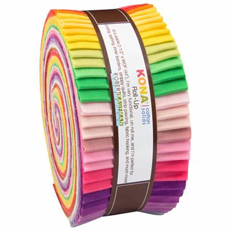 Kona Solid Roll Up - Rita Hodges Designer Palette