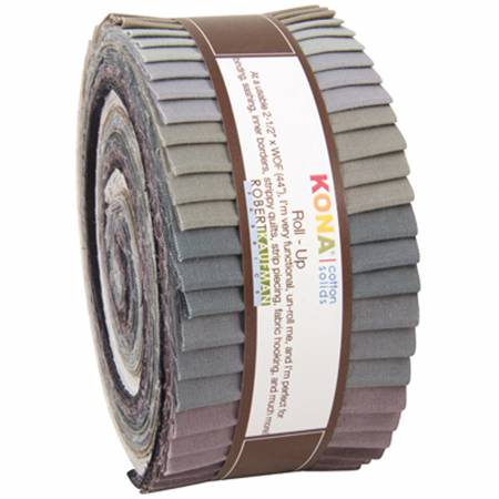 Kona Cotton Solids Roll Up - Gray Area