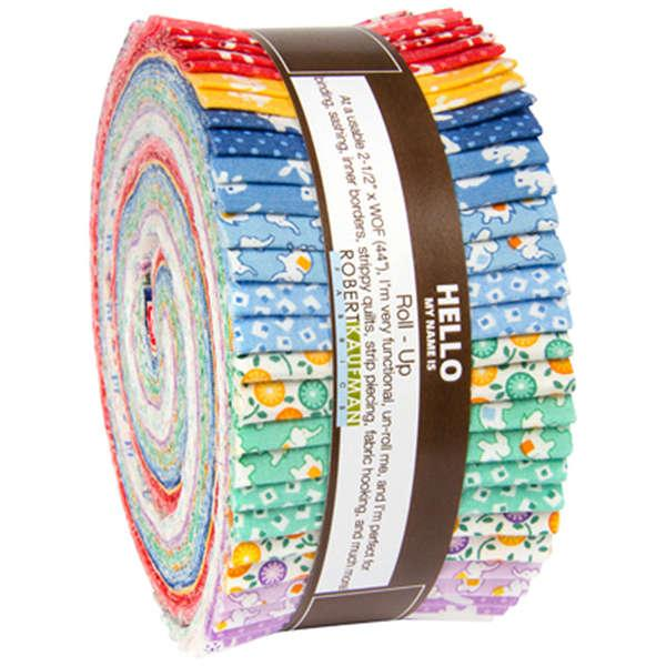 Naptime 2.5 inch Jelly Roll 40 pieces - Darlene Zimmerman - Robert Kaufman Fabrics