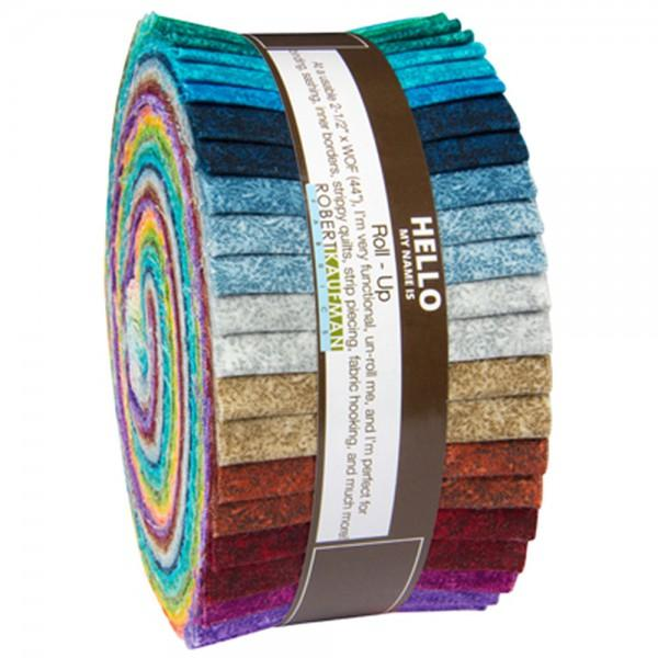 **2-1/2in Strips Fusions Meadow 40pcs
