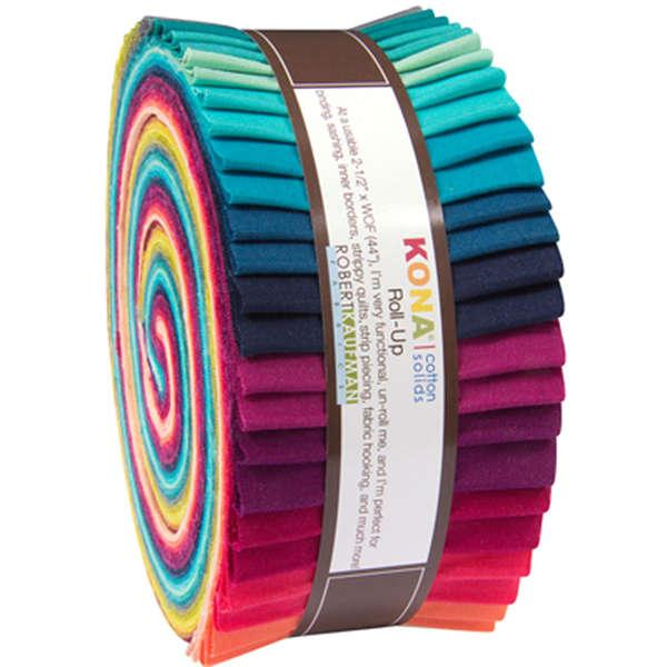 2-1/2in Strips Kona Cotton Rhoda Ruth 40pcs