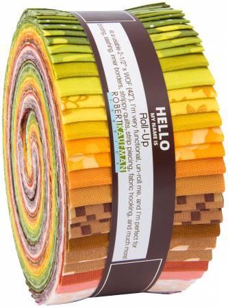 2-1/2in Strips Terrarium Warm 40pcs/bundle