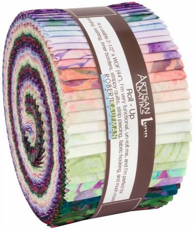 2 1/2 Strips Rosette Batik 40pcs bundle