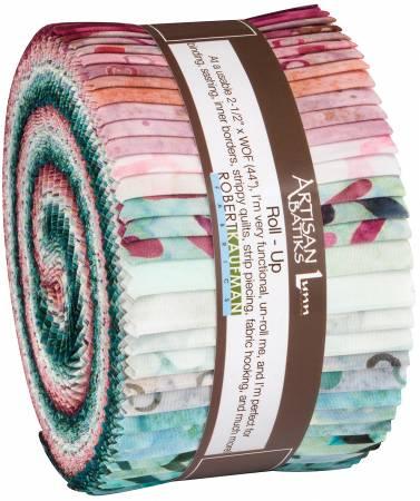 2-1/2in Strips Spring Forward Batik, 40pcs/bundle