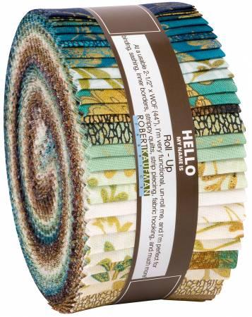 2-1/2in Strips Fiorella, 40pcs/bundle