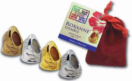 Roxanne Gold Plated Thimble Size 6