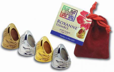 Roxanne Silver Plated Thimble Size 5.5