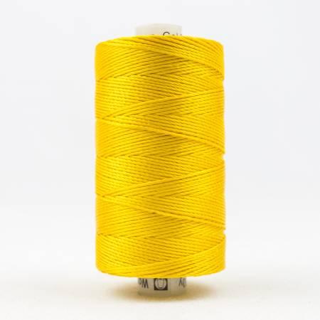 Razzle 8wt 6ply Rayon 229m Sunny Yellow